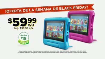 Kohl's Ofertas de la Semana de Black Friday TV Spot, 'Tablets y Shark' [Spanish] - Thumbnail 7