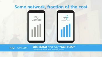 H2O Wireless TV Spot, '50% Off Your First Month'