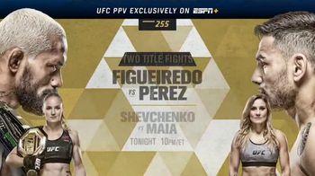 ESPN+ TV Spot, 'UFC 255: Figueiredo vs. Perez' - Thumbnail 10