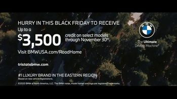 BMW Road Home Sales Event TV Spot, 'Black Friday: Light Your Way Home' Song by Bloom & The Bliss [T2] - Thumbnail 9