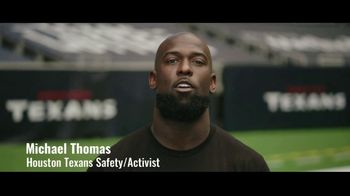 NFL TV Spot, 'Inspire Change: Vera Institute of Justice' Featuring Michael Thomas - 148 commercial airings