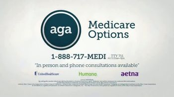 AGA Medicare Options TV Spot, 'Bombarded with Options' - Thumbnail 10