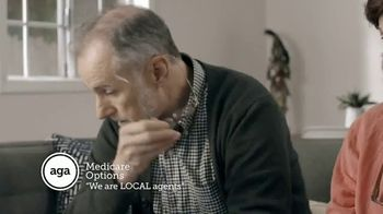 AGA Medicare Options TV Spot, 'Bombarded with Options' - Thumbnail 2