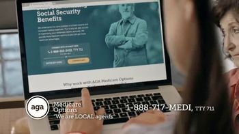 AGA Medicare Options TV Spot, 'Bombarded with Options' - Thumbnail 3