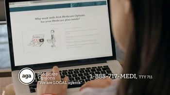 AGA Medicare Options TV Spot, 'Bombarded with Options' - Thumbnail 4