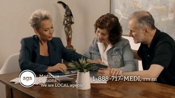 AGA Medicare Options TV Spot, 'Bombarded with Options' - Thumbnail 6