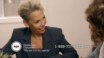 AGA Medicare Options TV Spot, 'Bombarded with Options' - Thumbnail 7