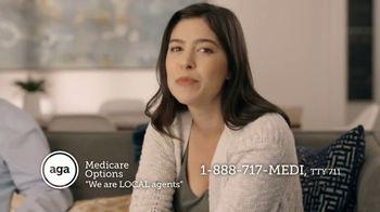 AGA Medicare Options TV Spot, 'Bombarded with Options' - Thumbnail 8