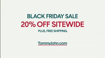 Tommy John Black Friday Sale TV Spot, '20% Off Sitewide' - Thumbnail 9