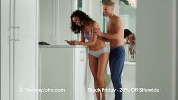 Tommy John Black Friday Sale TV Spot, '20% Off Sitewide' - Thumbnail 1