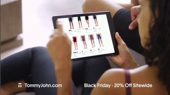 Tommy John Black Friday Sale TV Spot, '20% Off Sitewide' - Thumbnail 7