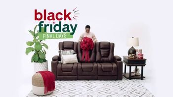 Ashley HomeStore Black Friday Sale TV Spot, 'Final Days: Up to 50% Off'