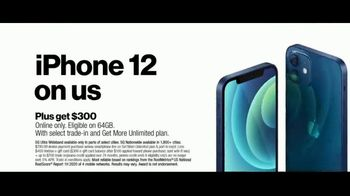 Verizon Black Friday TV Spot, 'The 5G America's Been Waiting For: Incredible: iPhone 12' - Thumbnail 6