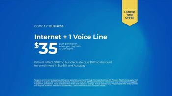 Comcast Business TV Spot, 'Ways of Working: $35 and $500 Prepaid Card' - Thumbnail 8