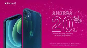 T-Mobile TV Spot, 'Días festivos: Apple iPhone 12 por cuenta nuestra' [Spanish] - Thumbnail 5
