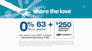 Subaru Share the Love Event TV Spot, 'Faces of Love' [T2] - Thumbnail 10