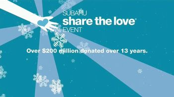 Subaru Share the Love Event TV Spot, 'Faces of Love' [T2] - Thumbnail 8