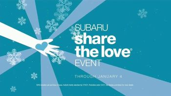 Subaru Share the Love Event TV Spot, 'Faces of Love' [T2] - Thumbnail 9