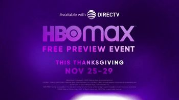 HBO Max TV Spot, 'Thanksgiving Preview Event' - Thumbnail 10