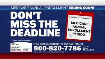 Medicare Benefits Hotline TV Spot, 'Expanded Benefits Final Days: $144 Added Back' - Thumbnail 10