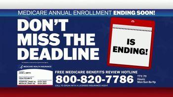 Medicare Benefits Hotline TV Spot, 'Expanded Benefits Final Days: $144 Added Back' - Thumbnail 2