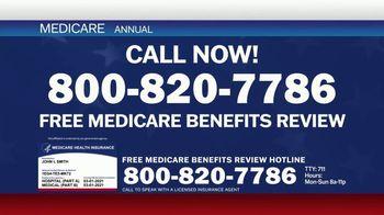 Medicare Benefits Hotline TV Spot, 'Expanded Benefits Final Days: $144 Added Back' - Thumbnail 5