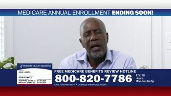 Medicare Benefits Hotline TV Spot, 'Expanded Benefits Final Days: $144 Added Back' - Thumbnail 7
