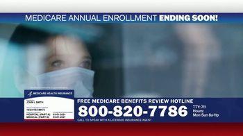 Medicare Benefits Hotline TV Spot, 'Expanded Benefits Final Days: $144 Added Back' - Thumbnail 9