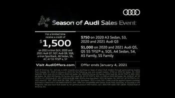 Season of Audi Sales Event TV Spot, 'Snowy Road' [T2] - Thumbnail 6