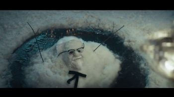 KFC $20 Fill Up TV Spot, 'Holidays: Colonel Snowman'