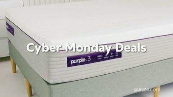 Purple Mattress Cyber Monday Deals TV Spot, 'Up to $500 Off Mattress and Sleep Bundle' - Thumbnail 1