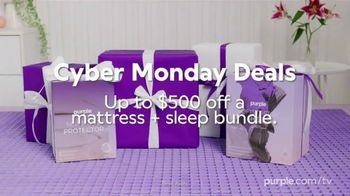 Purple Mattress Cyber Monday Deals TV Spot, 'Up to $500 Off Mattress and Sleep Bundle' - Thumbnail 10