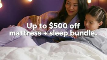 Purple Mattress Cyber Monday Deals TV Spot, 'Up to $500 Off Mattress and Sleep Bundle' - Thumbnail 3