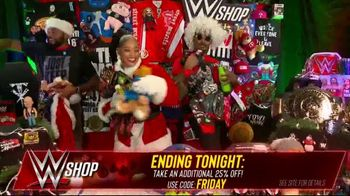 WWE Shop Black Friday Sale TV Spot, 'Are You Ready?: Take an Additional 25% Off' - Thumbnail 8