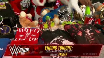 WWE Shop Black Friday Sale TV Spot, 'Are You Ready?: Take an Additional 25% Off' - Thumbnail 7