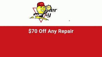 Mister Sparky TV Spot, 'Flickering Lights: $70 Off Any Repair' - Thumbnail 9