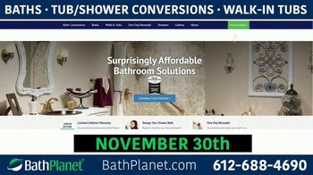 Bath Planet TV Spot, 'Free Premium Upgrades in November' - Thumbnail 5