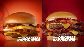 Wendy's Baconator TV Spot, 'Shakin' and Wakin'