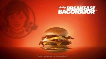 Wendy's Baconator TV Spot, 'Shakin' and Wakin' - Thumbnail 3