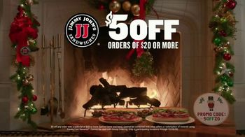 Jimmy John's TV Spot, 'Holiday Yule Log'