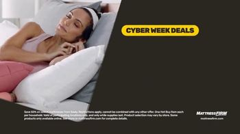 Mattress Firm Cyber Week Sale TV Spot, 'King for a Queen, Free Adjustable Base & 50% Off Selections' - Thumbnail 5