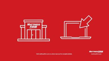 Mattress Firm Cyber Week Sale TV Spot, 'King for a Queen, Free Adjustable Base & 50% Off Selections' - Thumbnail 8