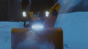 Cub Cadet X Series Snowblowers TV Spot, 'Winter Is What You Make of It: $200 Off Select 2X and 3X' - Thumbnail 1