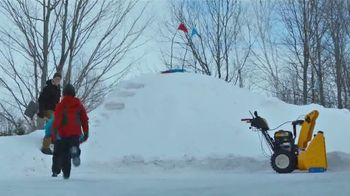 Cub Cadet X Series Snowblowers TV Spot, 'Winter Is What You Make of It: $200 Off Select 2X and 3X' - Thumbnail 6
