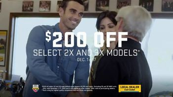 Cub Cadet X Series Snowblowers TV Spot, 'Winter Is What You Make of It: $200 Off Select 2X and 3X' - Thumbnail 8