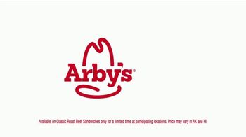 Arby's Classic Roast Beef Sandwich TV Spot, 'Five for $10 Chorus' Song by YOGI - Thumbnail 5
