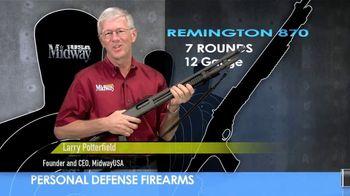 MidwayUSA TV Spot, 'Personal Defense: Remington Model 870' - Thumbnail 2