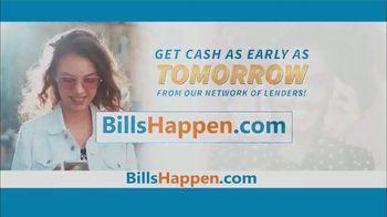 BillsHappen.com TV Spot, 'Life's Unexpected Bills'