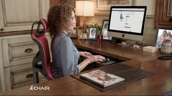 X-Chair TV Spot, 'Working From Home: $100 Off' - Thumbnail 6