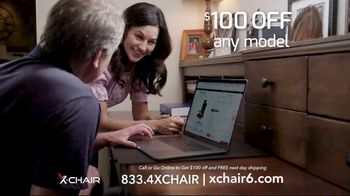 X-Chair TV Spot, 'Working From Home: $100 Off' - Thumbnail 9